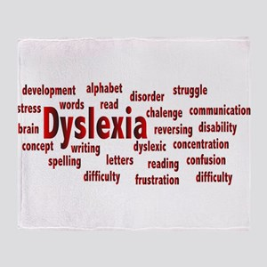 Dyslexia Throw Blanket