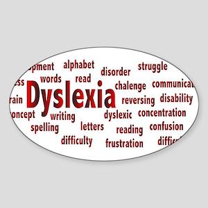 Dyslexia Sticker