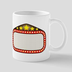 Cinema Marquee Mugs