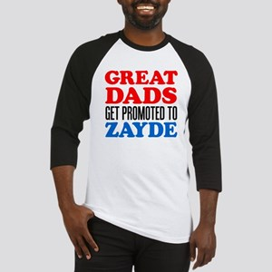 Great Dads Promoted Zayde Baseball Jersey