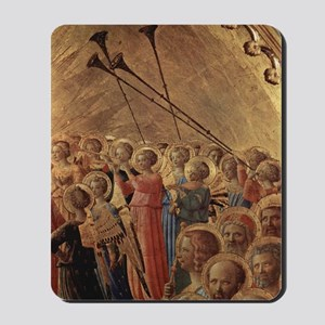 Medieval Angels Mousepad