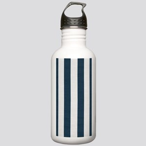 coastal blue nautical Stainless Water Bottle 1.0L