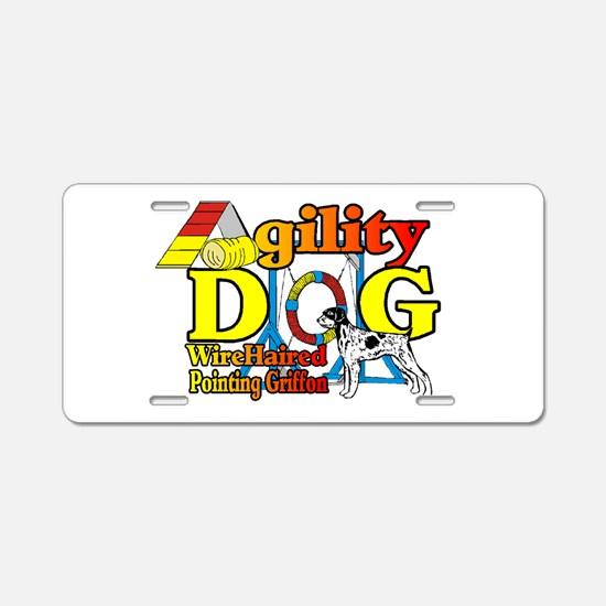 Wirehaired Pointing Griffon Aluminum License Plate