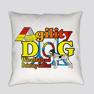 Wirehaired Pointing Griffon Agilit Everyday Pillow