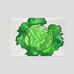 Lettuce Rectangle Magnet