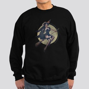 Vintage Salem Witch Sweatshirt (dark)
