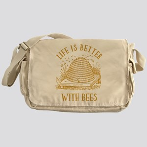 Life's Better With Bees Messenger Bag