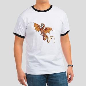 Fantasy Dragon Ringer T