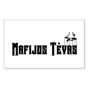 94d41b001c1b34 Teva Rectangle Stickers - CafePress