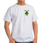 Supporting our Troops Xmas Light T-Shirt