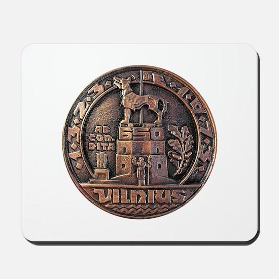 Vilnius Medallion Mousepad