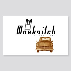 Moskvitch Rectangle Sticker
