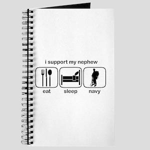 Eat Sleep Navy - Support Nephew Journal