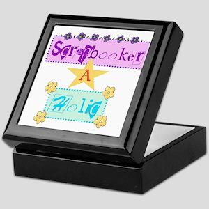 Scrapbooker-a-Holic Keepsake Box