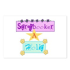 Scrapbooker-a-Holic Postcards (Package of 8)