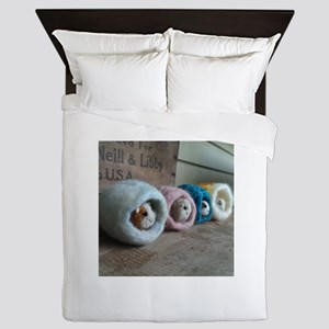 Guinea Pig Caves Queen Duvet