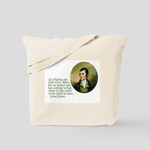 Adams & Burns Quotes Tote Bag