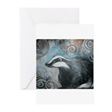 Badger Greeting Cards (20 Pack)