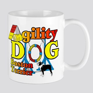 Boston Terrier Agility Mug