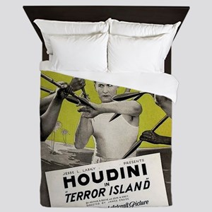 harry houdini Queen Duvet