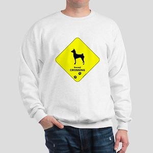 Basenji Crossing Sweatshirt