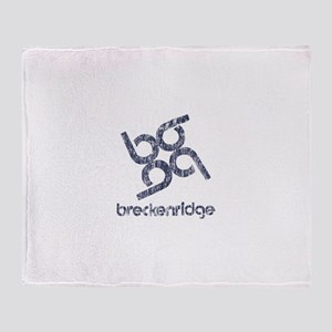 Vintage Breckenridge Throw Blanket