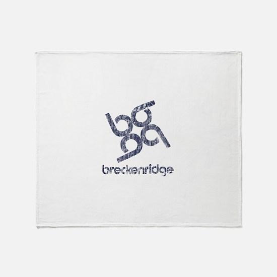 Vintage Breckenridge Throw Blanket