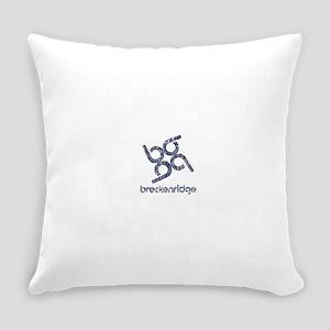 Vintage Breckenridge Everyday Pillow