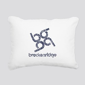 Vintage Breckenridge Rectangular Canvas Pillow