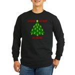 Supporting our Troops Xmas Long Sleeve Dark T-Shi