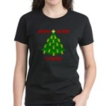 Supporting our Troops Xmas Women's Dark T-Shirt