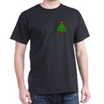 Supporting our Troops Xmas Dark T-Shirt