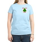 Supporting our Troops Xmas Women's Light T-Shirt