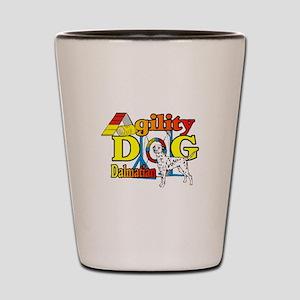 Dalmatian Agility Shot Glass
