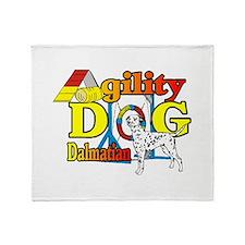 Dalmatian Agility Throw Blanket