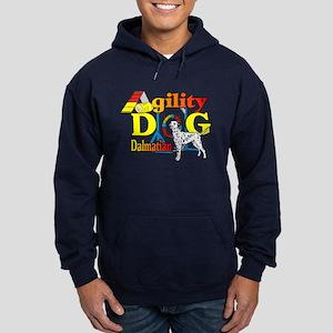 Dalmatian Agility Hoodie (dark)