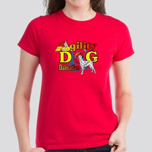 Dalmatian Agility Women's Dark T-Shirt