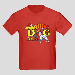 Dalmatian Agility Kids Dark T-Shirt