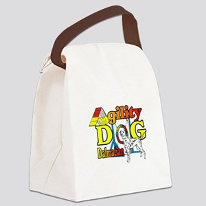 Dalmatian Agility Canvas Lunch Bag