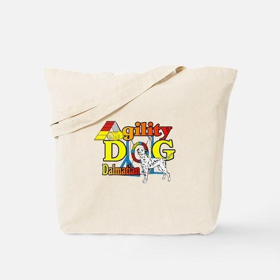 Dalmatian Agility Tote Bag