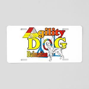 Dalmatian Agility Aluminum License Plate
