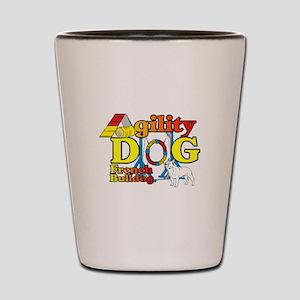 French Bulldog Agility Shot Glass
