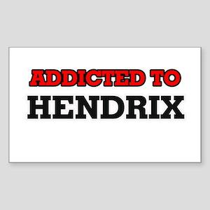 Addicted to Hendrix Sticker