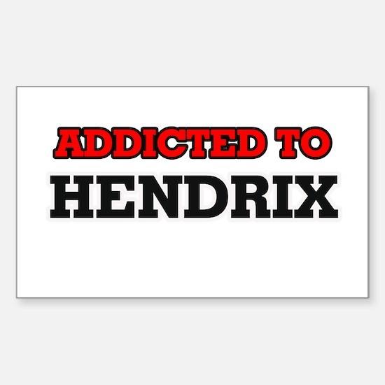 Addicted to Hendrix Stickers