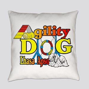 Lhasa Apso Agility Everyday Pillow