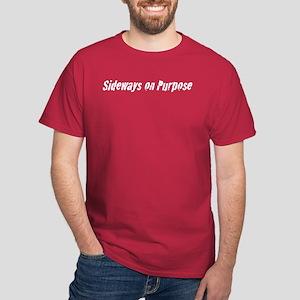 Sideways Purpose Dark T-Shirt