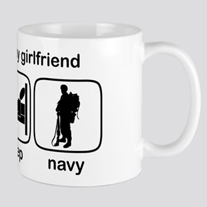 Eat Sleep Navy - Support GF Mug