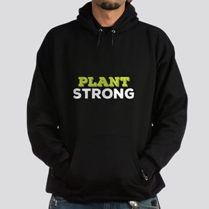 Plant Strong Green and White Sweatshirt