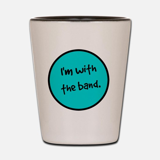 Cute Rock concert Shot Glass