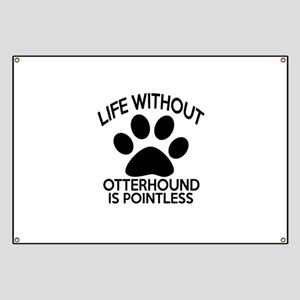 Life Without Parson Russell Terrier Dog Banner